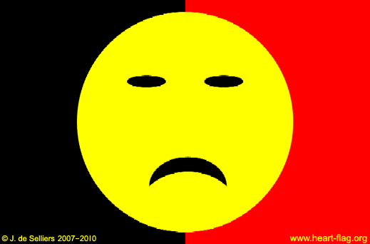 Belgian sad-flag © Jacques de Selliers, 2007-2014